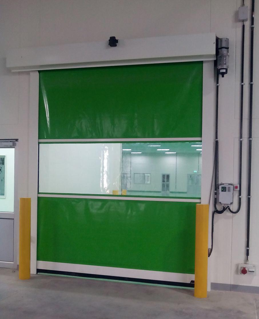 high speed rapid doors ... & High Speed Rollup Doors | Rapid Doors